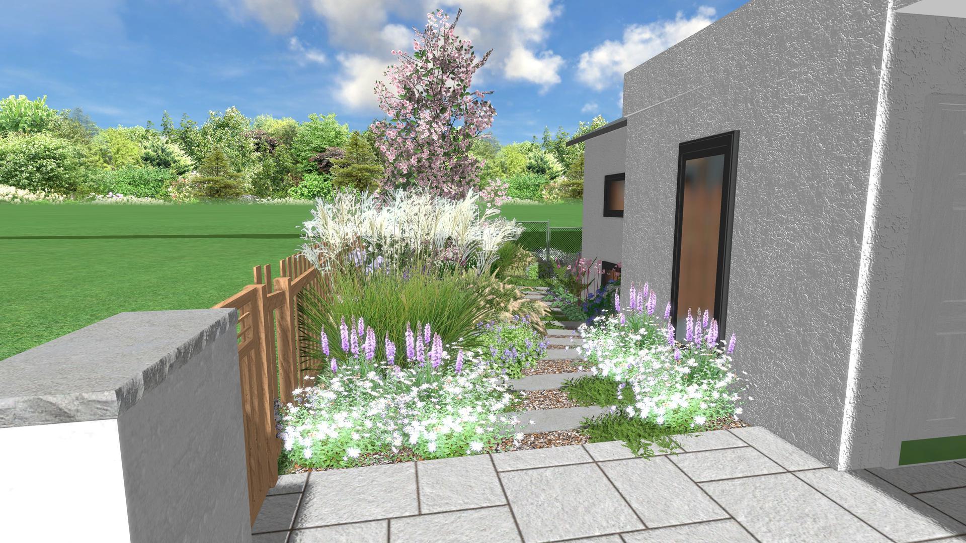 Začínáme se zahradou - Pred domem