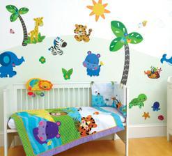 Dětský pokoj ve stylu Safari