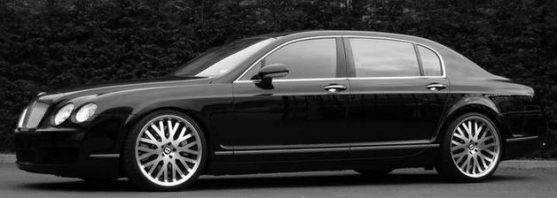Bentley Continental - poveze nevěstu