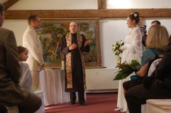 Svatební obřad - foto aranžérka Dasha Kopecká