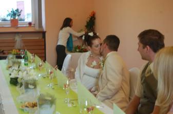 Zahájení hostiny - foto aranžérka Dasha Kopecká