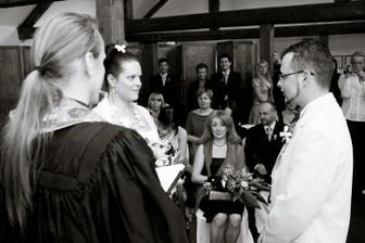 Svatební sliby - foto Martin Rabovský