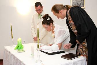 Podpisy - foto Martin Rabovský