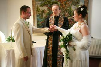 Stvrzení manželského svazku - foto Martin Rabovský