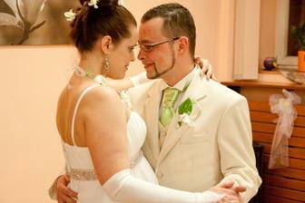První tanec novomanželů - foto Martin Rabovský