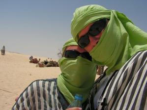 vylet na Saharu na tavach