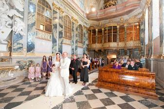nádherná zámecká kaple ve Valticích ....