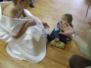S mojim šťastíčkom Matúškom.To bude ten najkrajší svadobný doprovot.