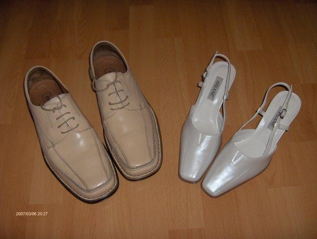 Predsvadobná príprava - Naše svadobné topánočky.