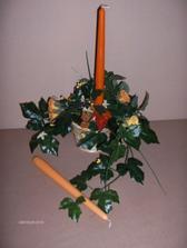 Svietniky na náš svadobný stôl od RUTH...ďakujem. Do jedného svietnika môžem vložiť až dva kusy sviečok. Sú krásne.