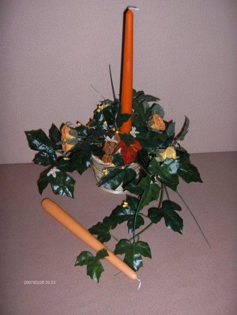 Predsvadobná príprava - Svietniky na náš svadobný stôl od RUTH...ďakujem. Do jedného svietnika môžem vložiť až dva kusy sviečok. Sú krásne.