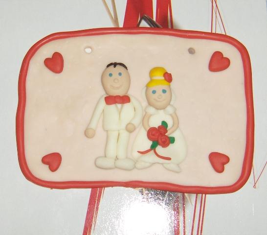 Predsvadobná príprava - Tabuľky novomanželov....veľmi peknučké. Za to ďakujem Lucke.