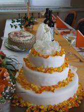 Naša svadobná...bola úžasná...mňam.