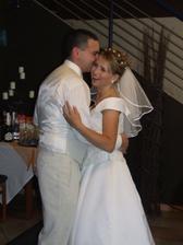 náš prvý svadobný....