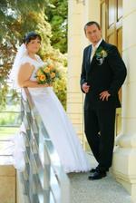 Naša prvá fotka v svadobnom