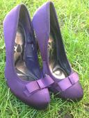 Luxusné fialové lodičky, 36