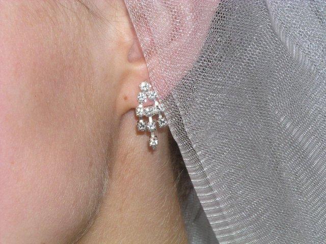Zuzka a Lubino - detail náušnice