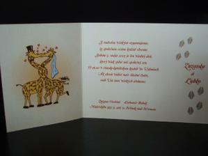 naše oznamko, chceli sme žirafky