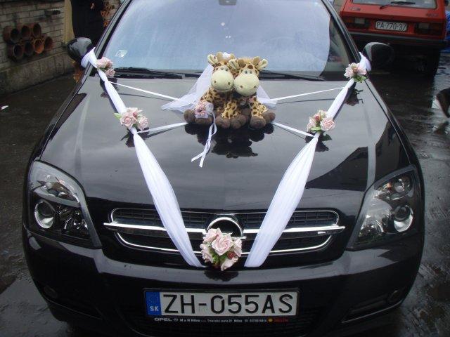 Zuzka a Lubino - naše autíčko
