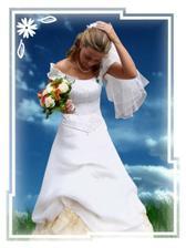 ze svatby kámošky,moje foto momentka,strašně se mi líbí,jen jsem ji šoupla do jínýho pozadí :-)
