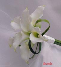 krásná jednoduchá kytička