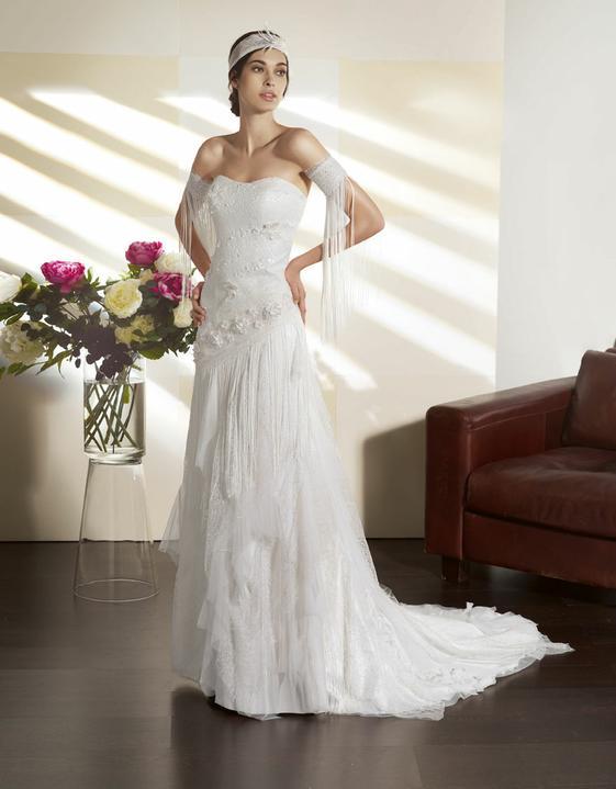 Svatební šaty Villais Espaňa - Model Orfeon vel.34