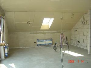 podkrovie kuchyňa