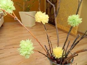kvetinky zo servítkov