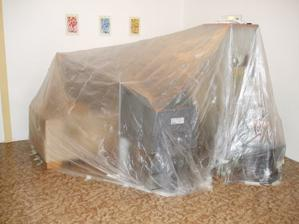 pôvodná obývačka - prerábka trvala cca 8 týždňov a robilo sa už počas bývania :-)