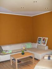 aj obývačka začína byť obývateľná
