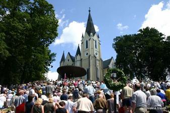 tu budeme mať svadbu-Maránska hora v Levoči