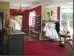 Buštěhradský svatební salon - tady jsem našla svoje vysněné šatičky
