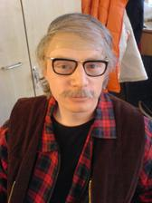 V maskérně - předělání na starouše