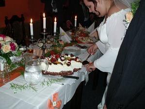 Svatební tabule (večerní)
