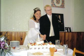 Sobotní oslava - krájíme ňami dort!