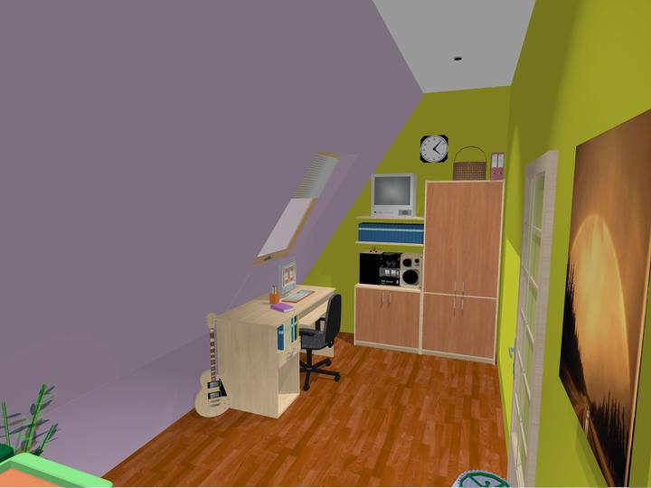 Detske izby v podkrovi - Obrázok č. 3