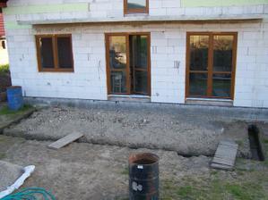 zadná časť domu