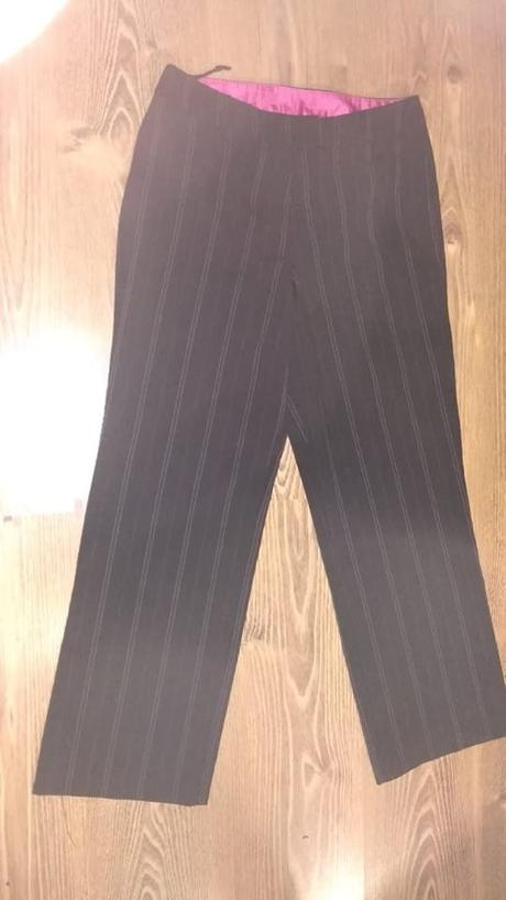 kostýmové nohavice Zn. amaranto - Obrázok č. 2