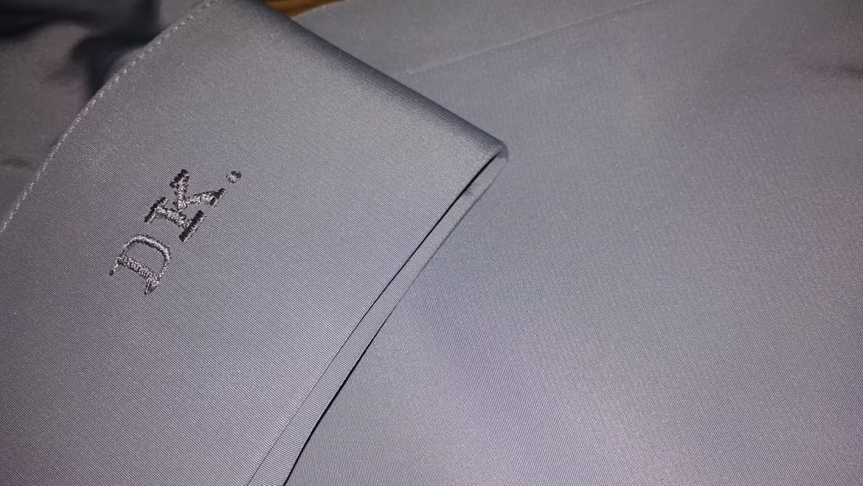 Strieborno sivá košeľa - Obrázok č. 1