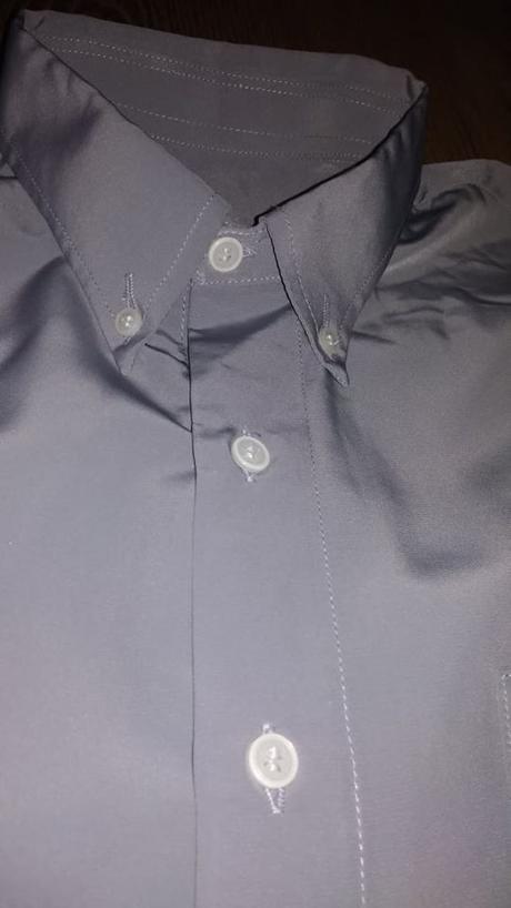 Strieborno sivá košeľa - Obrázok č. 4