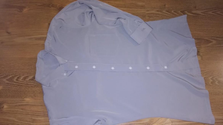 Strieborno sivá košeľa - Obrázok č. 3