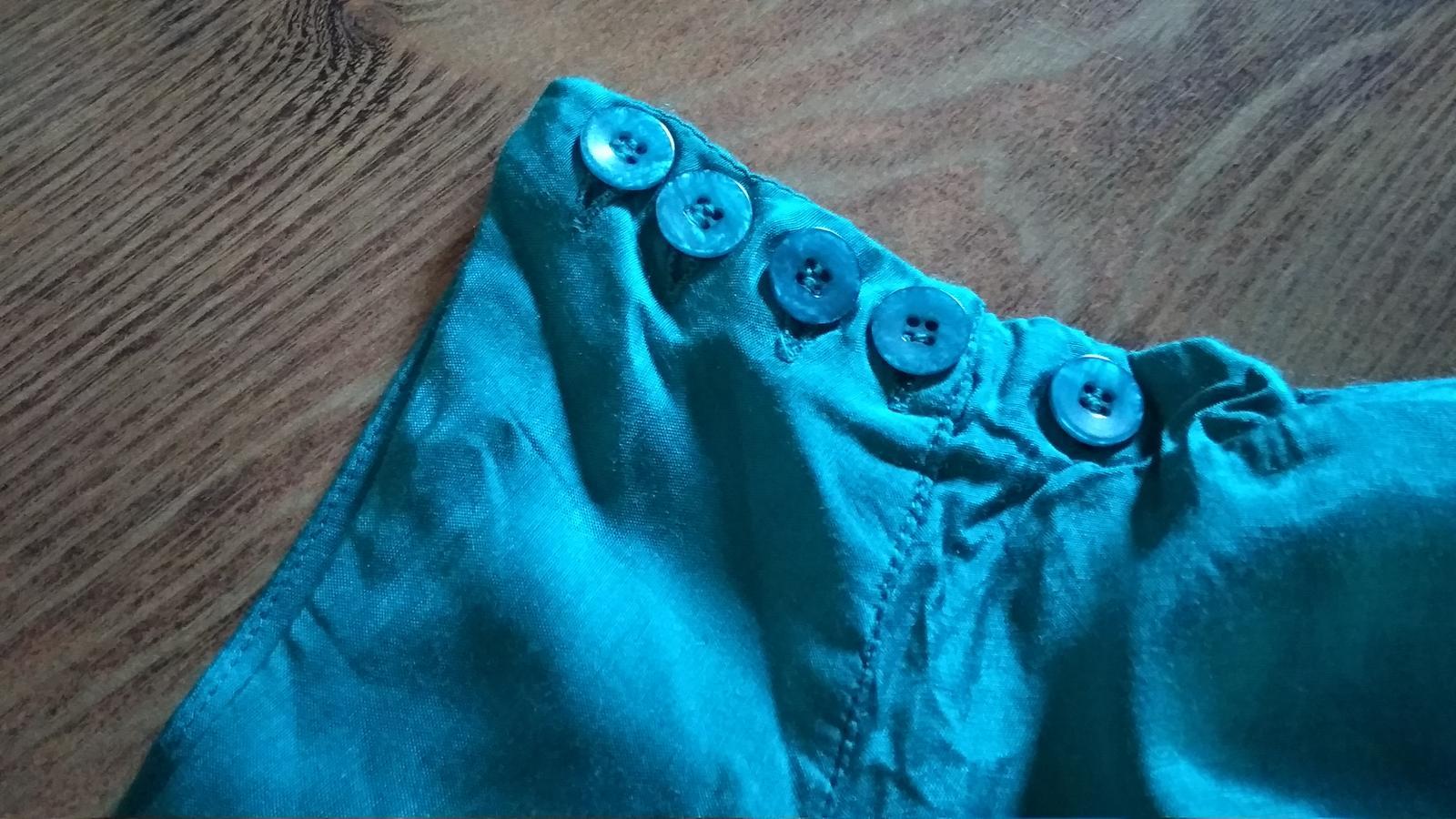 Moderná podšitá sukňa s vlnami S/M - Obrázok č. 4