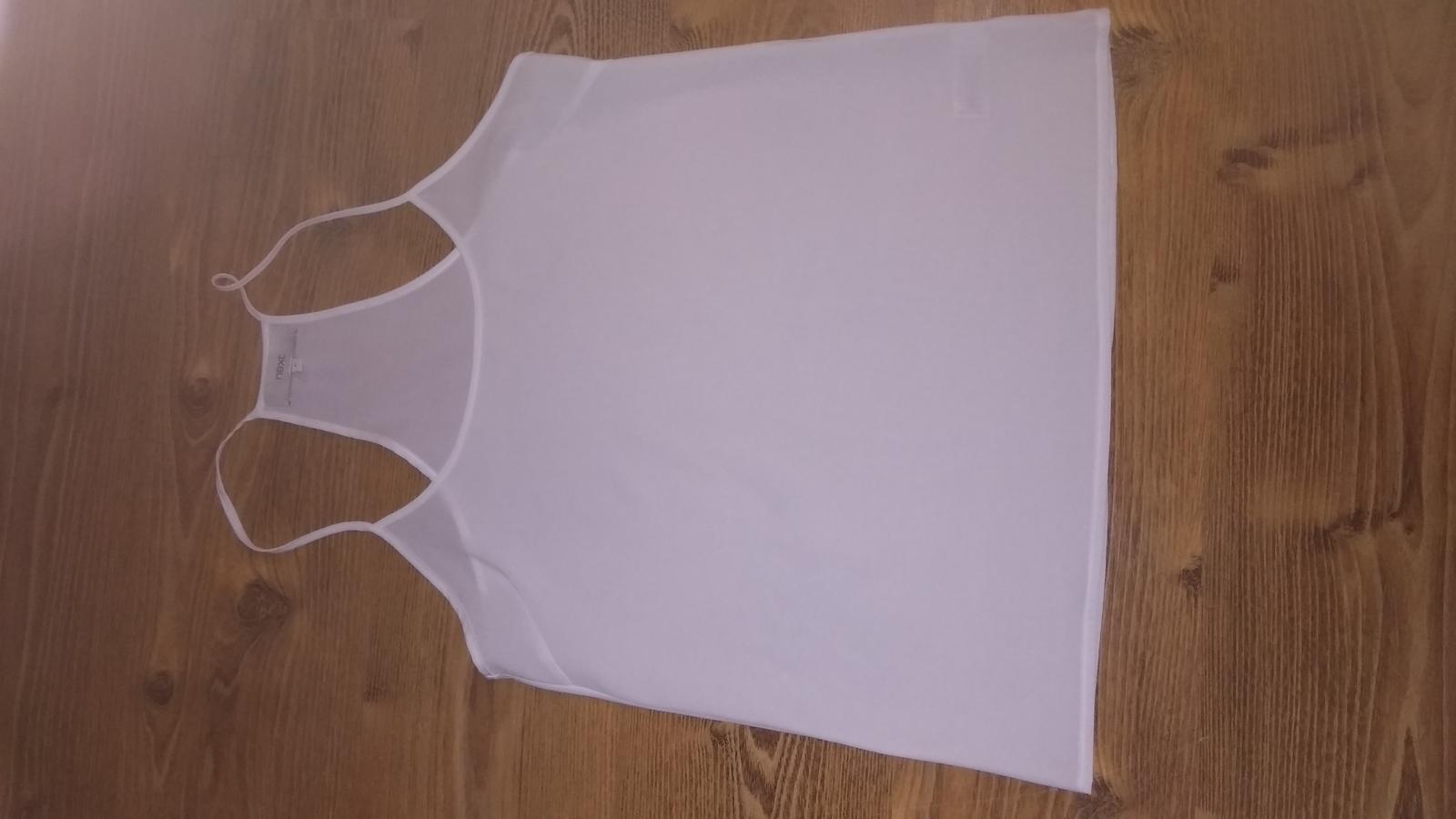 Next, tielková blúzka, raz oblečená  - Obrázok č. 2