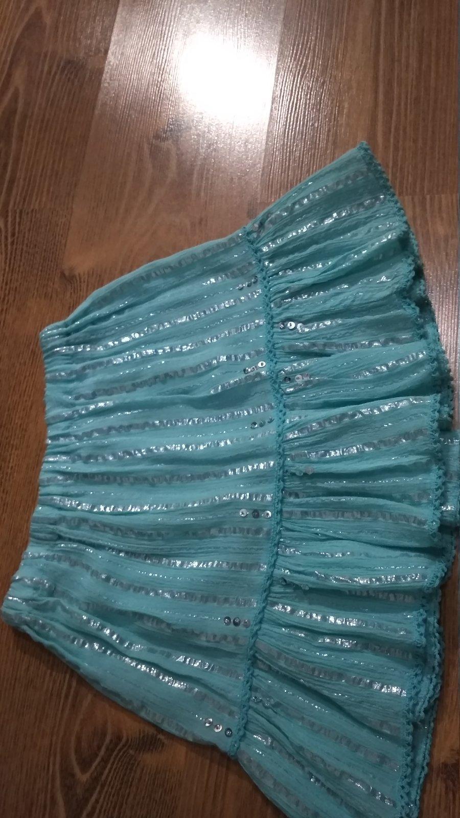 Tyrkysovo modrá sukienka - Obrázok č. 1
