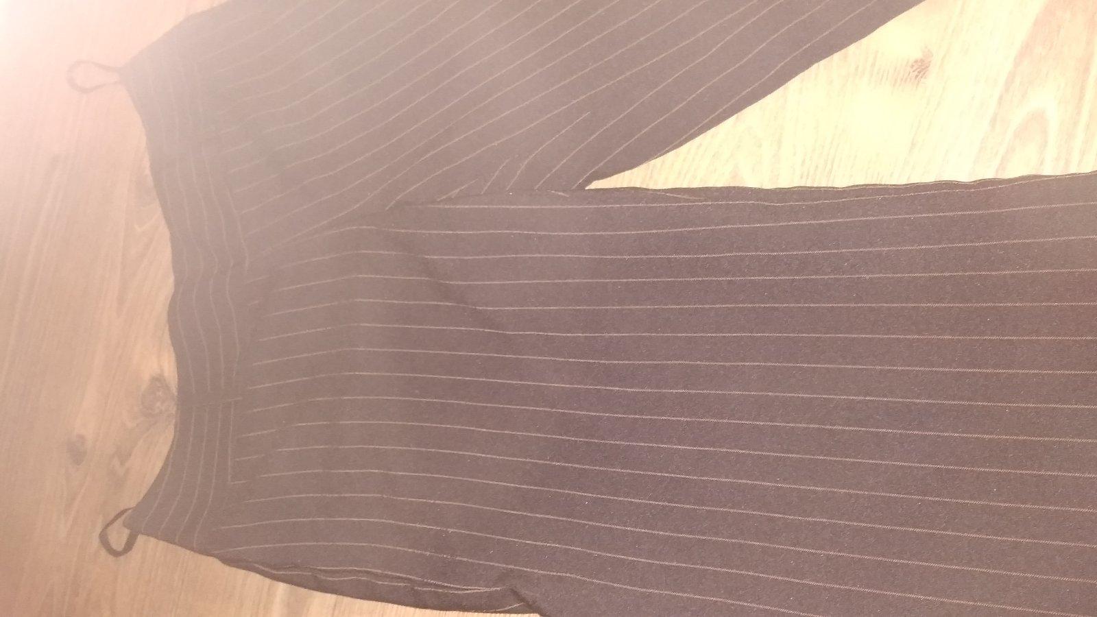 Hnedé 3/4 kostýmové nohavice S/M - Obrázok č. 2
