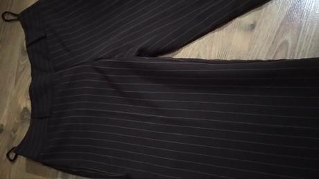 Hnedé 3/4 kostýmové nohavice S/M - Obrázok č. 1