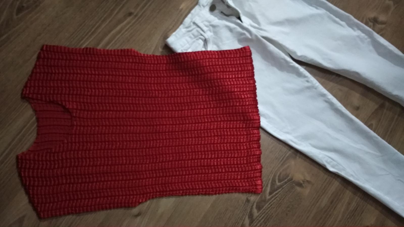 Elegantné elatické lesklé tričko M/L - Obrázok č. 1