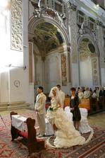 krásny katedrálny chrám v Trnave