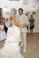 náš prvý spoločný manželský tanec