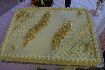 naša tortička, bola veľmi dobrá, mňam!